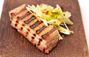 Barbecued Pork Belly recipe