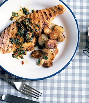 Swordfish Steaks with Chermoula recipe