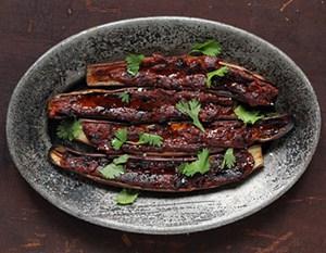 Barbecued Eggplant with Miso Glaze recipe