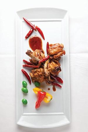 Chile Miso Chicken Wings recipe