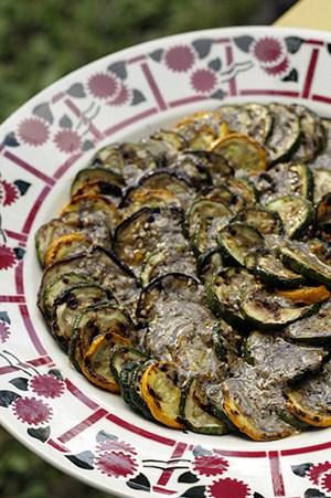 Grilled Vegetables with Za'atar Vinaigrette recipe