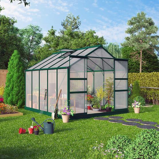Garden Buildings Direct BillyOh Harvester Walk In Aluminium Greenhouse