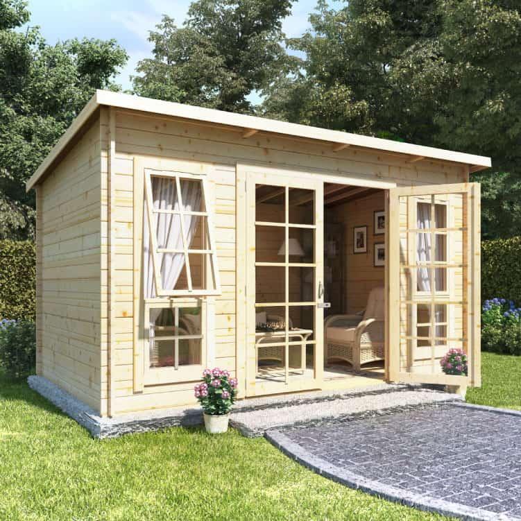 Garden Buildings Direct BillyOh Skinner Log Cabin Summerhouse
