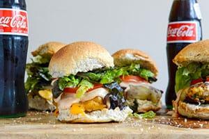 Roasted Jalapeno Cheddar Turkey Burgers with BBQ Aioli recipe
