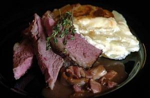 BBQ Rib BBQ Rib of Beef with Forestiere Sauce recipe
